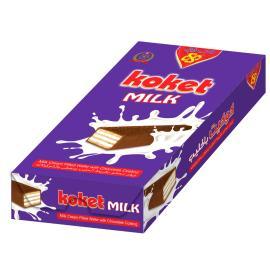 ويفر محشو بكريمة الحليب ومغطي بالشوكولاتة باكيت 24 حبة * 20 جم