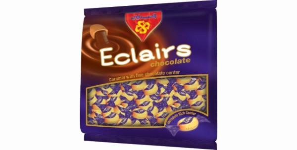 إكليرز كراميل محشو بالشوكولاتة كيس 1 كيلو