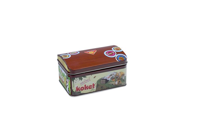صندوق قرقيعان فارغ صغير للأطفال