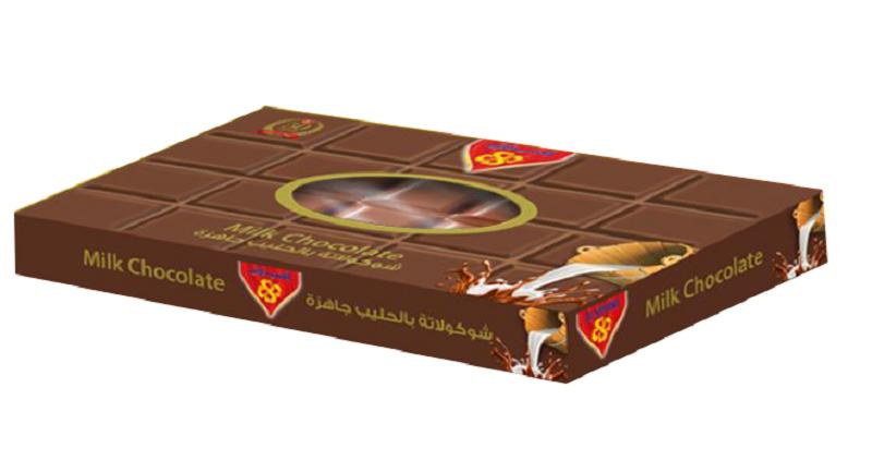 شوكولاتة خام بالحليب 1 كيلو
