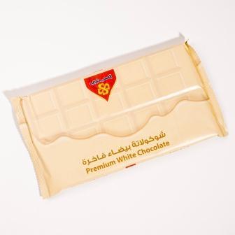 شوكولاتة  بيضاء  فاخرة 500جم